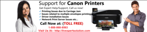 canon printer contact number