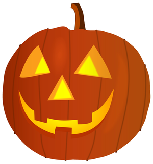 citrouille halloween labu october clipart 10