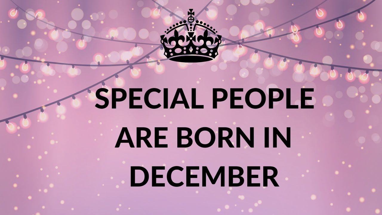 Happy Birthday December Born Birthdays Photo 41692342 Fanpop