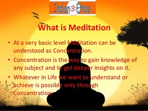 Meaning Of Meditation