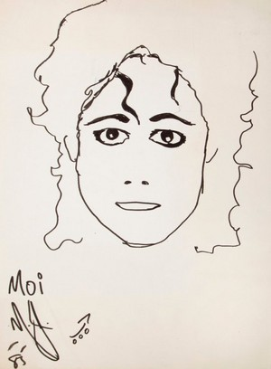 michael jackson self portrait