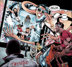 The Terrifics and The Tom Strong Family