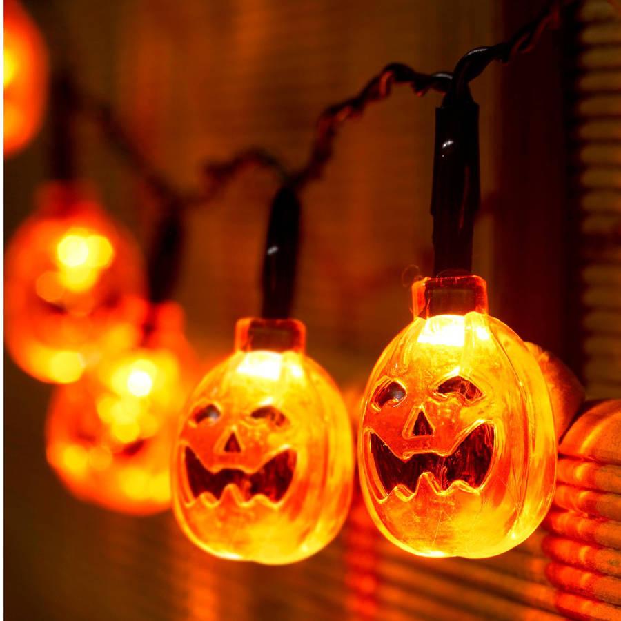 Halloween Pompoen.Original Halloween Pompoen String Fairy Lights Halloween
