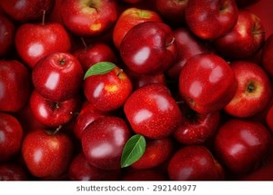 red apples background 260nw 292140977