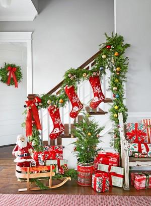 spirit christmas past stairway