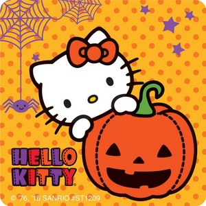 Hello Kitty Halloween Stickers