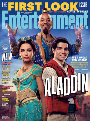 Aladdin Live-Action Magazine Cover