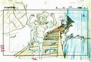 アニメーション layouts from 'Spirited Away'