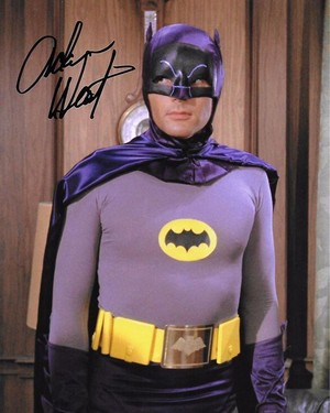 Batman/Adam West Autograph