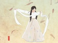 Beautiful Korean Folk Dance - korean-dramas fan art