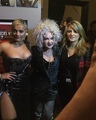Bebe Rexha with Cyndi Lauper and her mom