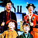 Bert, Mary, Jane and Michael - mary-poppins icon