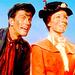 Bert and Mary - mary-poppins icon