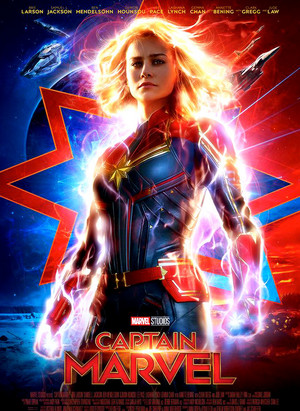 Captain Marvel - Promo Poster