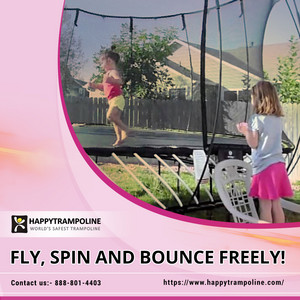 Check What Extra Perks Added In Indoor Trampolines | HappyTrampoline