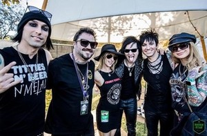 Christian Coma, Alice Mogg, Jinxx, Jake, and Inna Pitts