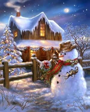 圣诞节 Snowman ⛄