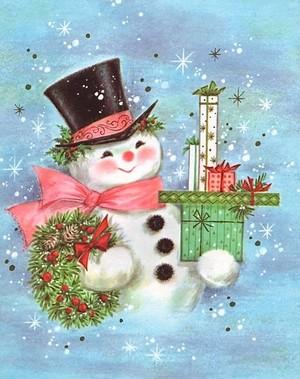 Christmas Snowman ⛄