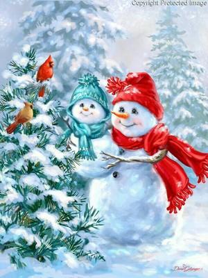 Christmas Snowmen ⛄