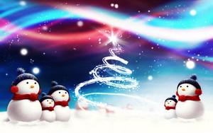 বড়দিন Snowmen ⛄
