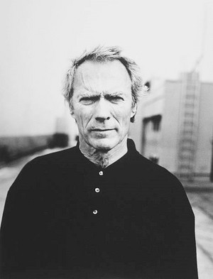 Clint Eastwood photographed on April 17, 1997 in Los Angeles, California (Photo kwa Michel Haddi)