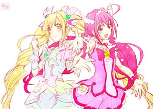 Cure Echo and Cure Happy