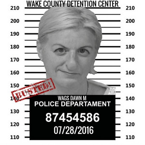 DAWN WAGNER DOING TIME IN WAKE COUNTY NC