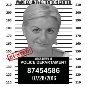 DAWN WAGS BUSTED IN CARY NORTH CAROLINA