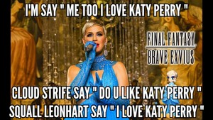 DEAR EVERYBODY DO U LIKE KATY PERRY