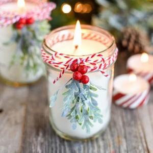 DIY Natale mason jar