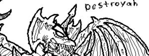 Destroyah doodle