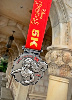 Disney Princess 5K Elena Medal