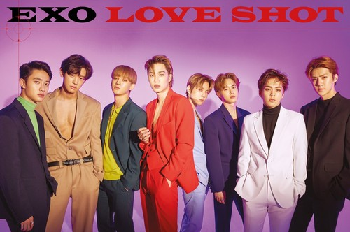 exo wallpaper called exo The 5th Repackage Album amor SHOT
