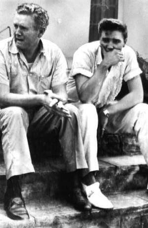 Elvis And His Father, Vernon