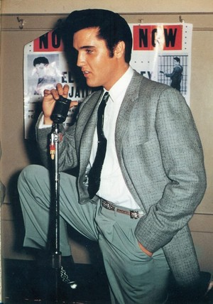 Elvis Presley ~October 26, 1957