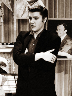 Elvis at the Wink Martindale's Teenage Dance Party show (June 16, 1956)