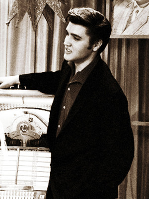 Elvis at the Wink Martindale's Teenage Dance Party onyesha (June 16, 1956)