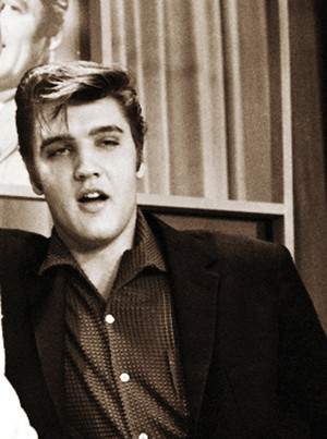 Elvis at the Wink Martindale's Teenage Dance Party tunjuk (June 16, 1956)
