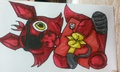 Foxy Plush - zutaradragons-storys-poems-and-pictures fan art