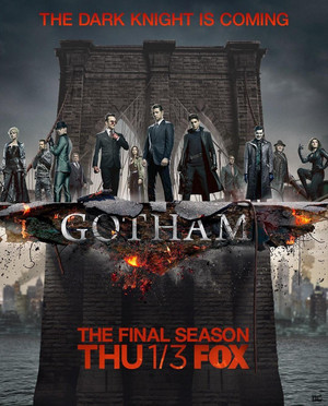 Gotham - Season 5 Poster - The Dark Knight Is Coming