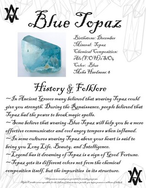 History Of Blue Topaz