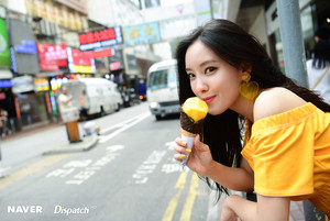 Hyomin @ HK for Naver X Dispatch