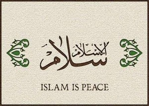 ISLAM IS PEACE NO WAR