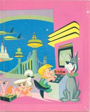 Jetsons Paper bonecas Poster2