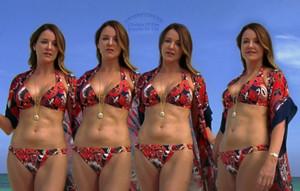 Jordan Sullivan christa miller bikini