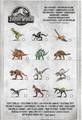 Jurassic World mini dinosauri