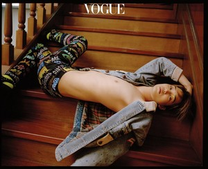 Kai for Vogue Korea on December 2018