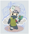 Kakashi - anime fan art