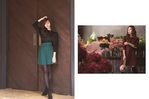 Kojima Haruna for Rirandture 2018 Winter Collection