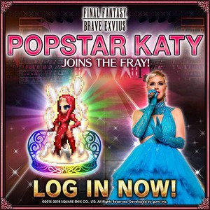 LOG IN NOW KATY PERRY
